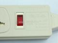 防雷型3位万用插座带保护延长线组合(排插, 中间转换器)