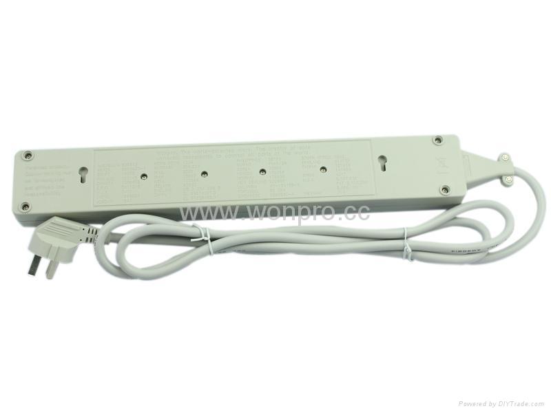 6 gang Universal socket extension power cord 5