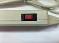 防雷型6位美标插座转换器(排插)