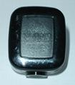 国标二极带接地自配线10A插头黑色(WSP-16-BK)