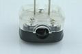 China 3C GB 2 pole Ungrouded Rewiring Plug 10A in Black(WSP-6-BK)