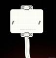 外露式一位国标三极插座带电源线(WF-7.1R16-DT116)