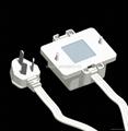 外露式一位美标三极插座带电源线(WF-7.1R5A-DT116)