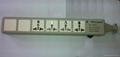 防雷型三位插座带夜光指示灯转换器