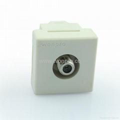 电视插座镙口型(TV1-W)