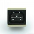 IEC female socket 2P+E C13(RIEC-W) 1