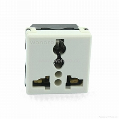 Universal Industrial Receptacle 2P+E 20/16A 250V 7KV(R4T-W)