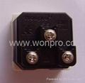 万用多用途产业大功率插座16/20A 250V 7KV 2P+E(R4TN-W)) 2