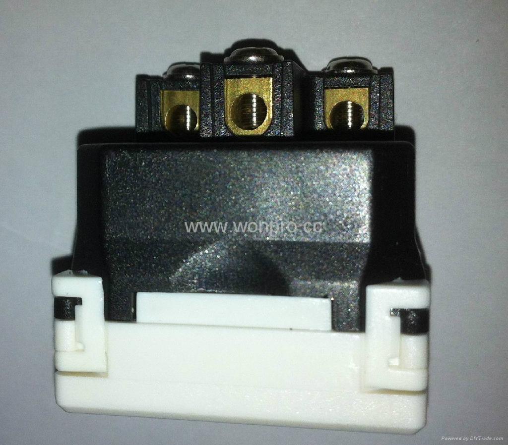 万用多用途产业大功率插座16/20A 250V 7KV 2P+E(R4TN-W)) 5