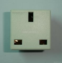 英标插座白色2P+E(R7-W)