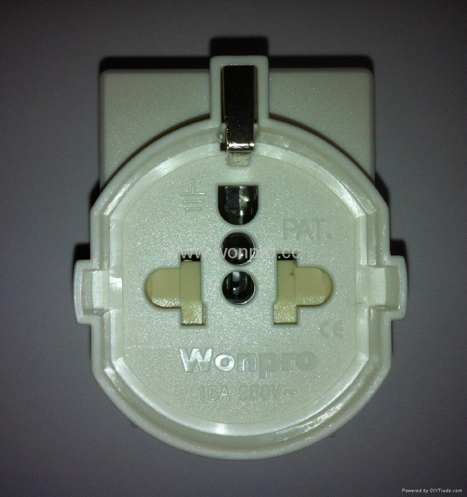 欧洲通插座带保护门(RGFS-W) 1