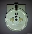 欧洲通插座带保护门(RGFS-
