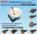 欧洲通插座带保护门(RGFS-W) 5
