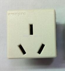 国标三极插座16/20A250V锁线式(R16T-W)