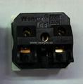 国标三极插座16/20A250V锁线式(R16T-W) 2