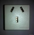 国标三极插座16/20A250V锁线式(R16T-W) 5