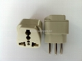 New Brazil Plug Adapter grounded