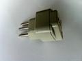 New Brazil Plug Adapter grounded Inlay(WA-11AN-W 5