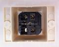 外露式一位国标三极插座带锁螺丝 (WF-7.R16T-W)