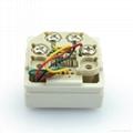 埋入式工业用2芯4芯6芯电话插座(WF-9.1TE1/TE2/TE3-W)