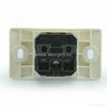 埋入式一位工业用万用多用途插座带锁线螺丝(WF-9.1R4T-W 16A)