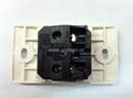 埋入式工业用只适用220V插头一位万用插座(WF-9.1RU4T-W 16A) 4