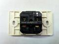 埋入式工业用只适用220V插头一位万用插座(WF-9.1RU4T-W 16A)
