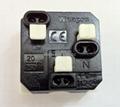 埋入式工业用只适用台湾日本美国插头一位万用插座(WF-9.1RT-W 20A)