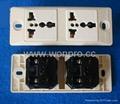 埋入式工业万用插座英式插座(WF-9II.R4.R7-W)