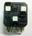 英卡入式工业用一位万用插座带保护门2P+E(BSF-R4S-W 10A白色门) 5