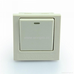 英卡入式工业用一位单控开关(BSF-S1C-W)