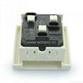 英卡入式工业用一位英标插座2P+E(BSF-R7-W 13A) 2