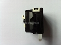 英卡入式工业用一位万用插座带保护门黑色2P+E(BSF-R4S-BK 10A 橘黄门)