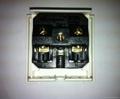 Inlay Way Industrial Universal Socket w/shutter & screw 2P+E(BSF-R4TS-W 16/20A) 2