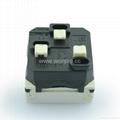 英卡入式工业用一位万用插座2P+E(BSF-R4-W 10A白色)