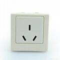 Inlay Way Industrial GB 3-pole Socket