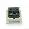 英卡入式工业用一位国标三极带锁线螺丝2P+E(BSF-R16T-W 16A)