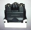 英卡入式工业用一位国标三,二极插座带锁线螺丝(BSF-R16BTN-W 10A)