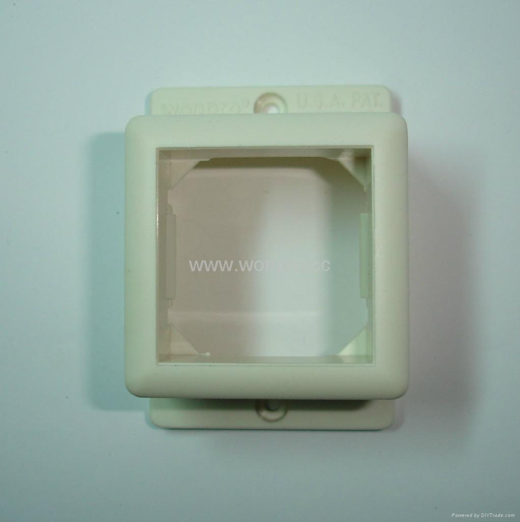 外露式工业用一位国标三极插座 (WF-7.R16-W) 5