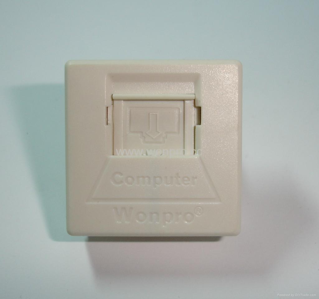 Cat6 8-pin network socket RJ45(TE4NTS-2-W) 5