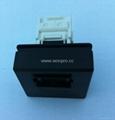 5,super 5,6 type Network 8-pin jack(TE4NTS-1/2-BK) 3