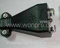 万用多用途插座+独特稳不落的L型安全插座二极带接地(R3-W)