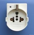 二极带接地美标/国标/欧标插座带电源指示灯10A-16A250V~ 3KV(R5AV-W 等等)
