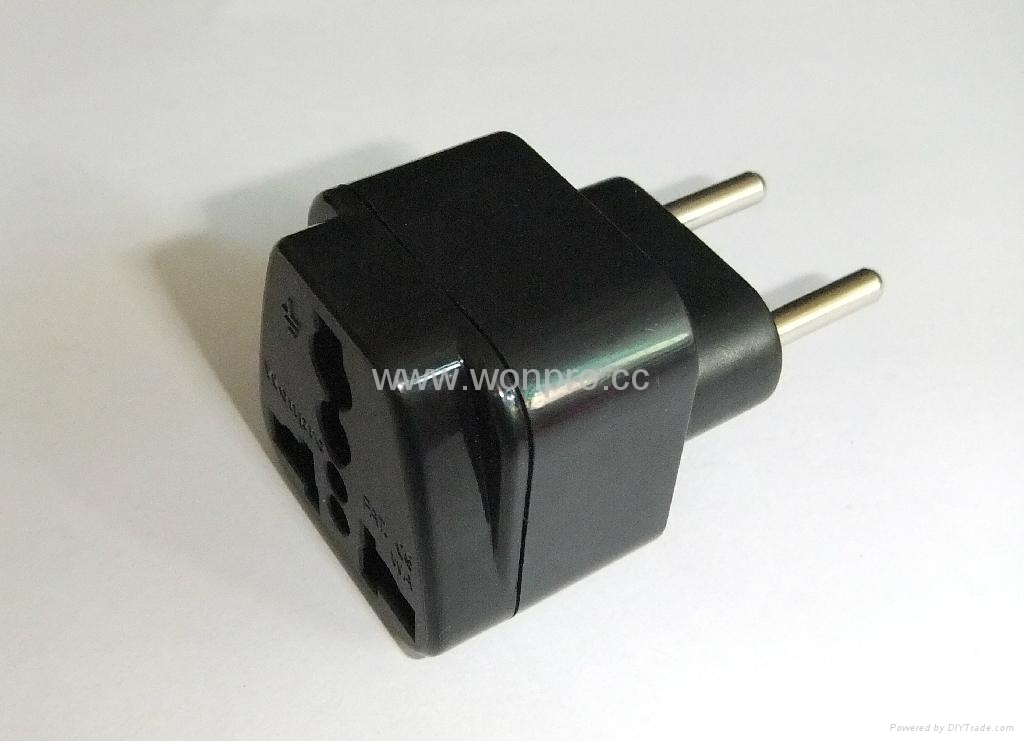 eu european union plug adapter ungrounded inlay wa 9c. Black Bedroom Furniture Sets. Home Design Ideas