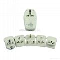 全球通旅游转换器组带USB充电(ASTDBU-SBvs) 3