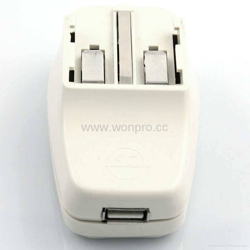 全球通旅游转换器组带USB充电(ASTDBU-SBvs) 4