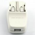 All in One Travel Adapter Kit w/USB charger(ASTDBU-SBvs) 4