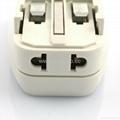 All in One Travel Adapter Kit w/USB charger(ASTDBU-SBvs) 5