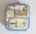 全球通旅游转换器组带USB充电