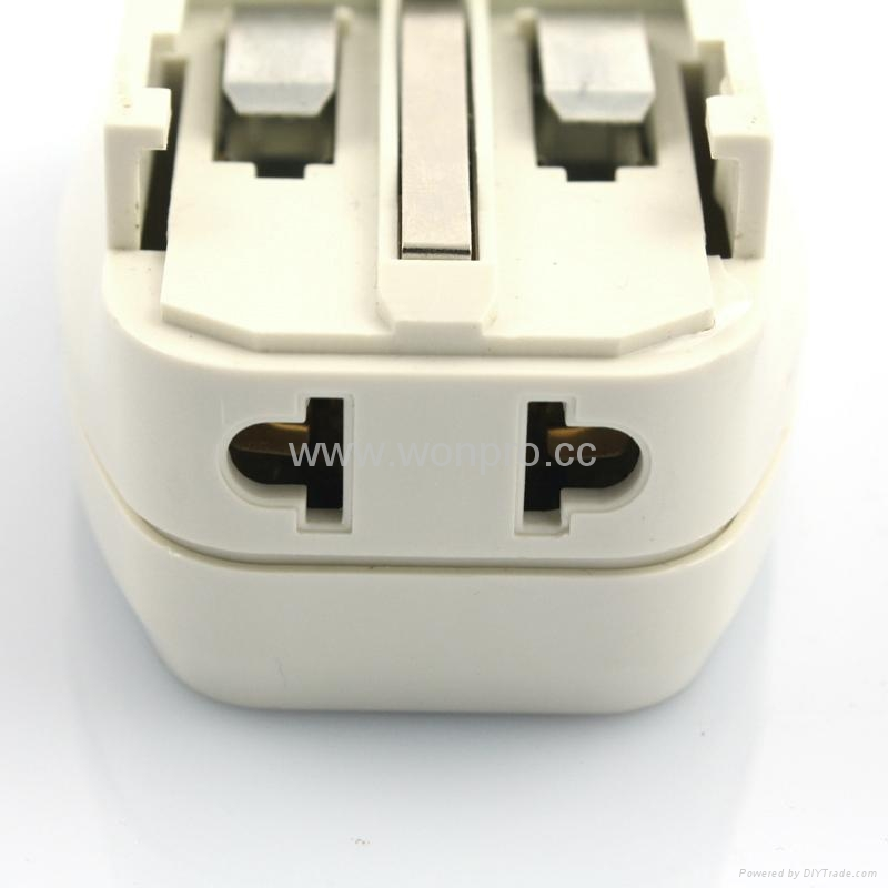 全球通旅游转换器组带USB充电(ASTDBU-SB) 5